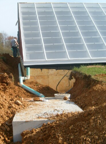 Building A Solar Greenhouse With The Subterranean Heating