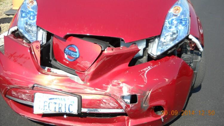LEAF wreck - My Nissan Leaf Forum