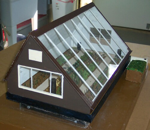 how to make greenhouse model for school project
