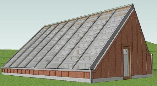The Ymca Solar Greenhouse In Blacksburg Va
