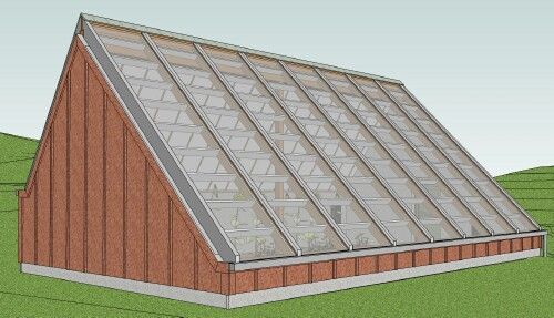 The Ymca Solar Greenhouse In Blacksburg Va