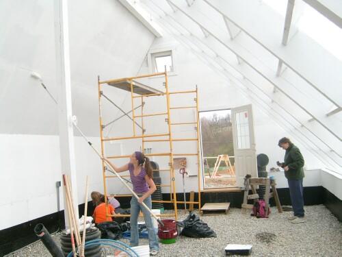 Ymca Solar Greenhouse Construction
