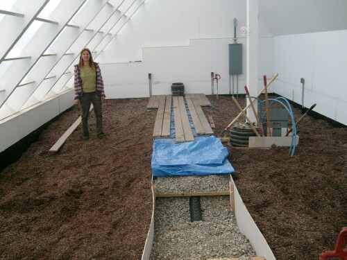 Ymca Solar Greenhouse Inside