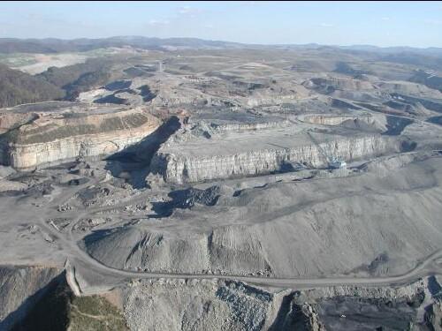 Landscape Destruction Due To Energy Extraction